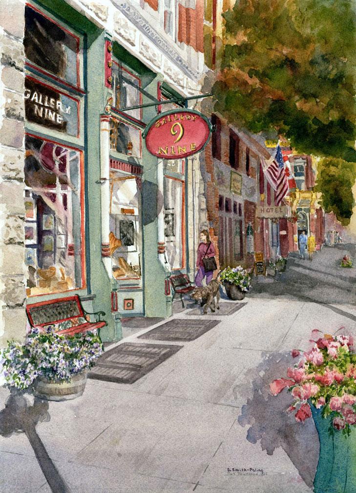 Sandra Smith Poling Paintings Gallery Nine